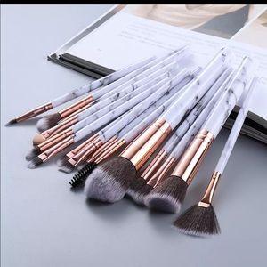 New 15Pcs Makeup white Brushes Tool Set Cosmetic